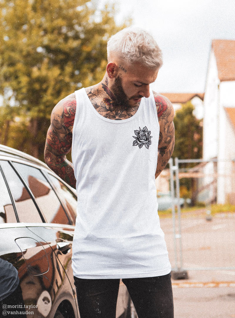raindeer tattooed apparel tank top tattoo clothing rose rosey