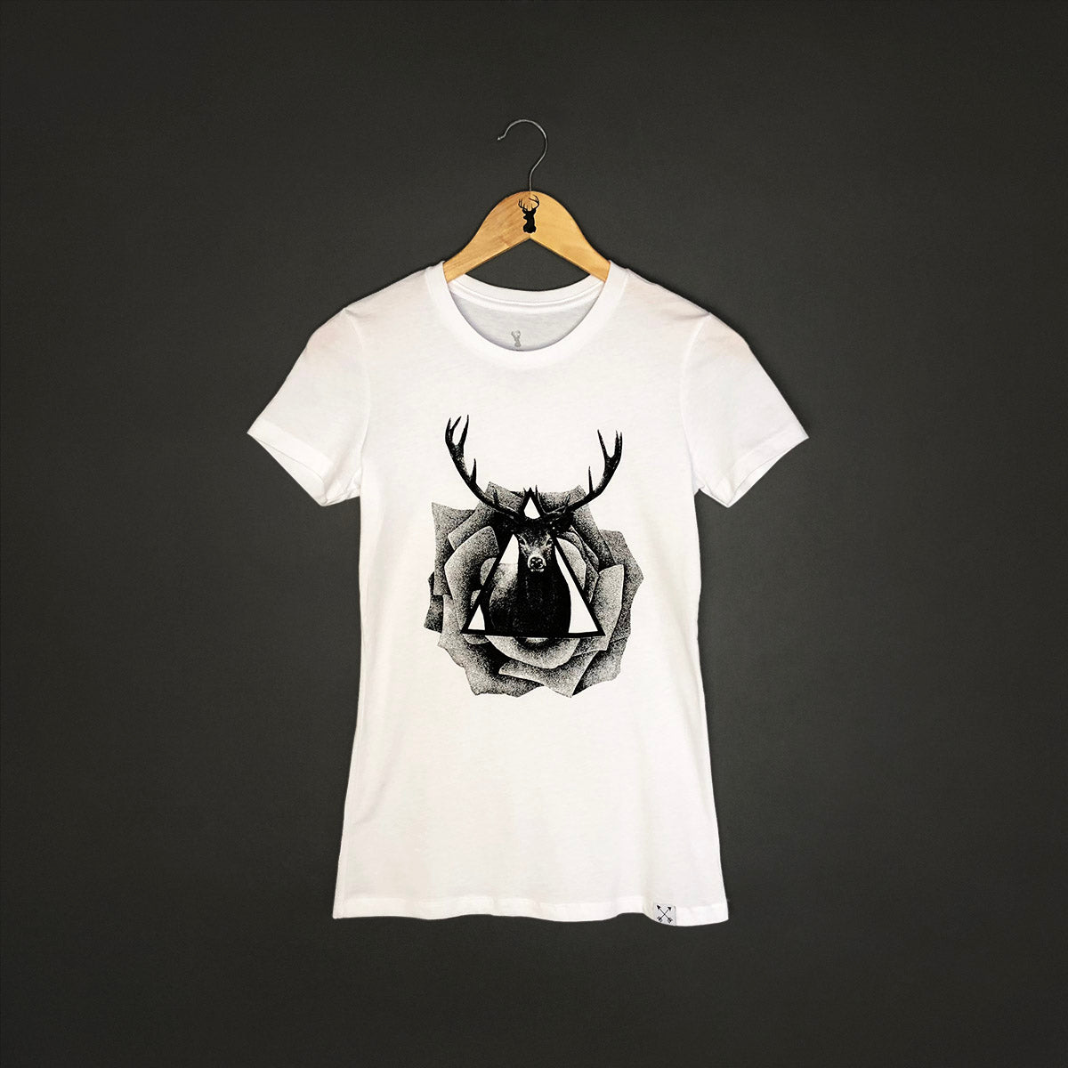raindeer oh deer tank top tattoo clothing t-shirt