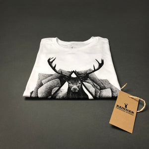 raindeer oh deer tattoo clothing surreal t-shirt