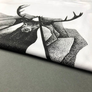raindeer oh deer tattoo clothing surreal