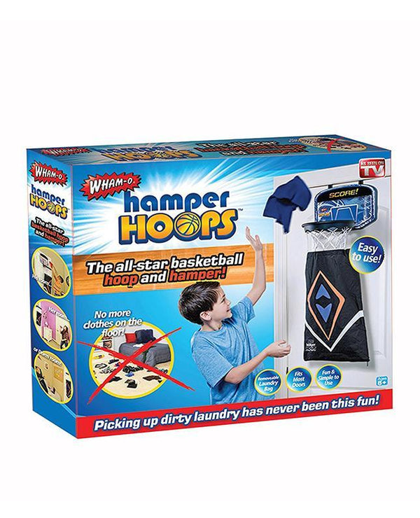 Hamper Hoops - Кош 2 во 1