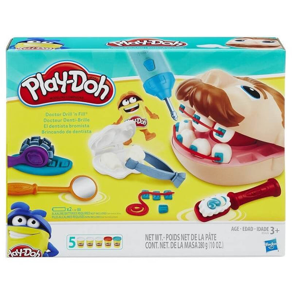 Play-doh Doctor Drill n Fill - детска играчка