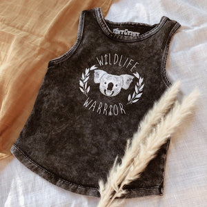 Wildlife Warrior Tank - Stonewash Tiny Gypsy