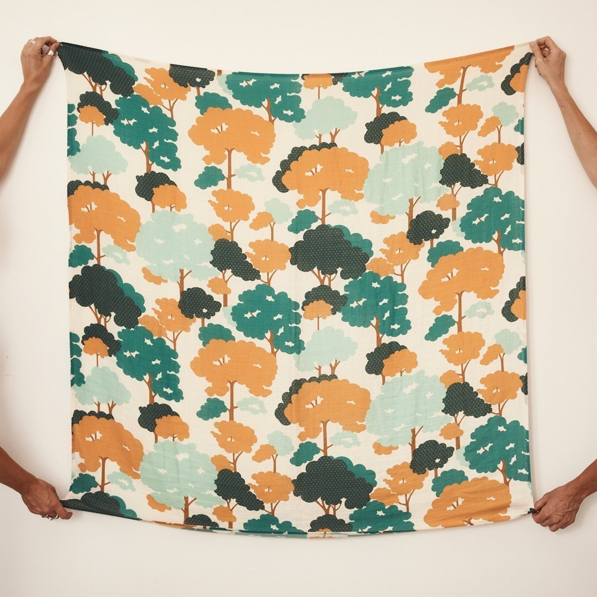 Trees Print Swaddle Banabae
