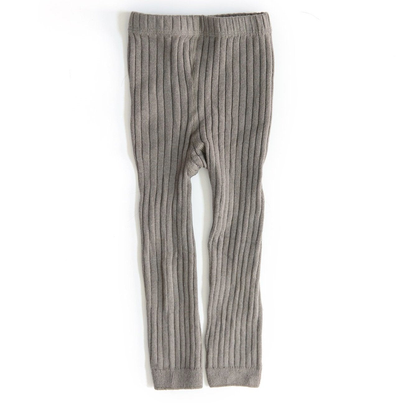 Ribbed Tights - Grey Indigo Attic
