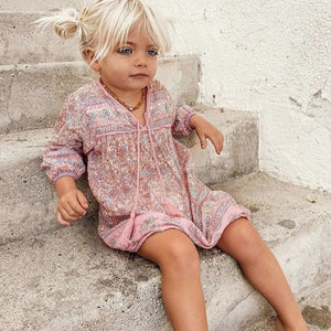 Little Luna Dress - Peony Little Gypsy Co