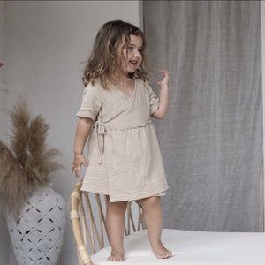 Aaylah Dress - Sand Luca the Label