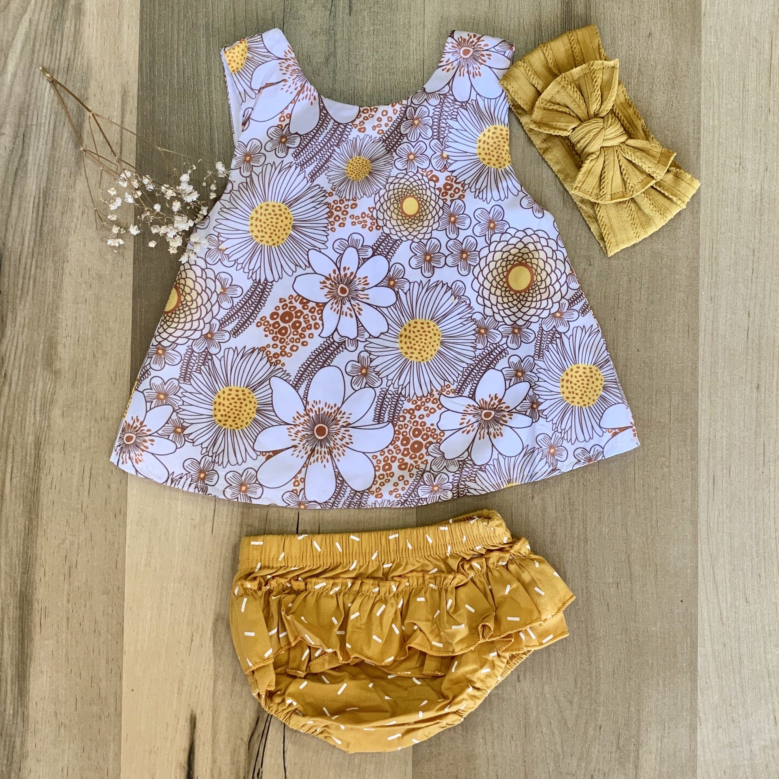 Flower Child 2-Piece Set Indigo Attic