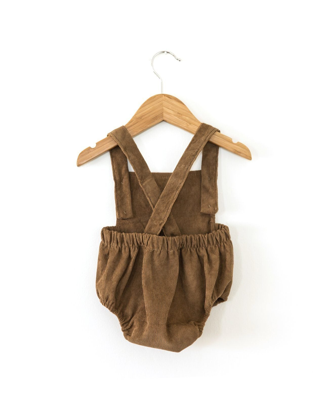 EDIT Kobe Cord Romper - Earth INDIGO ATTIC