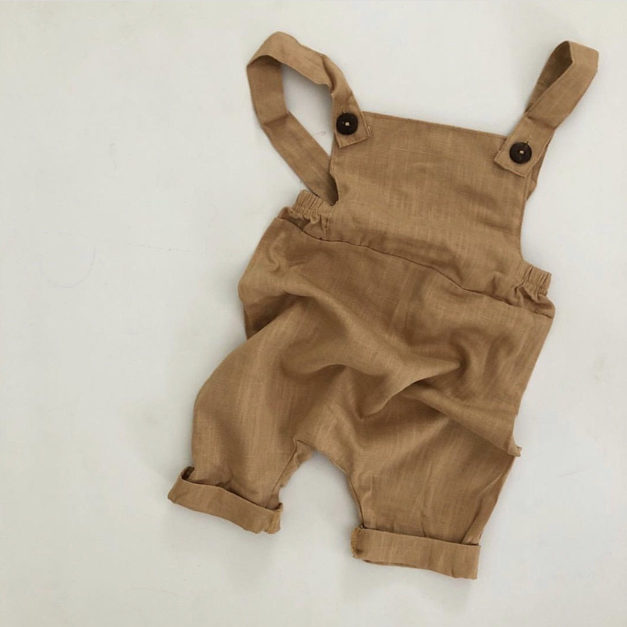 Parker Overalls - Mustard Luca the Label