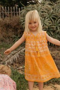 Little Luna Dress - Marigold Little Gypsy Co