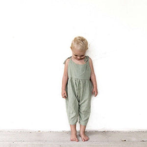 Luca Overalls - Sage Luca the Label