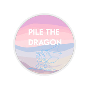 The Pile the Dragon Sticker