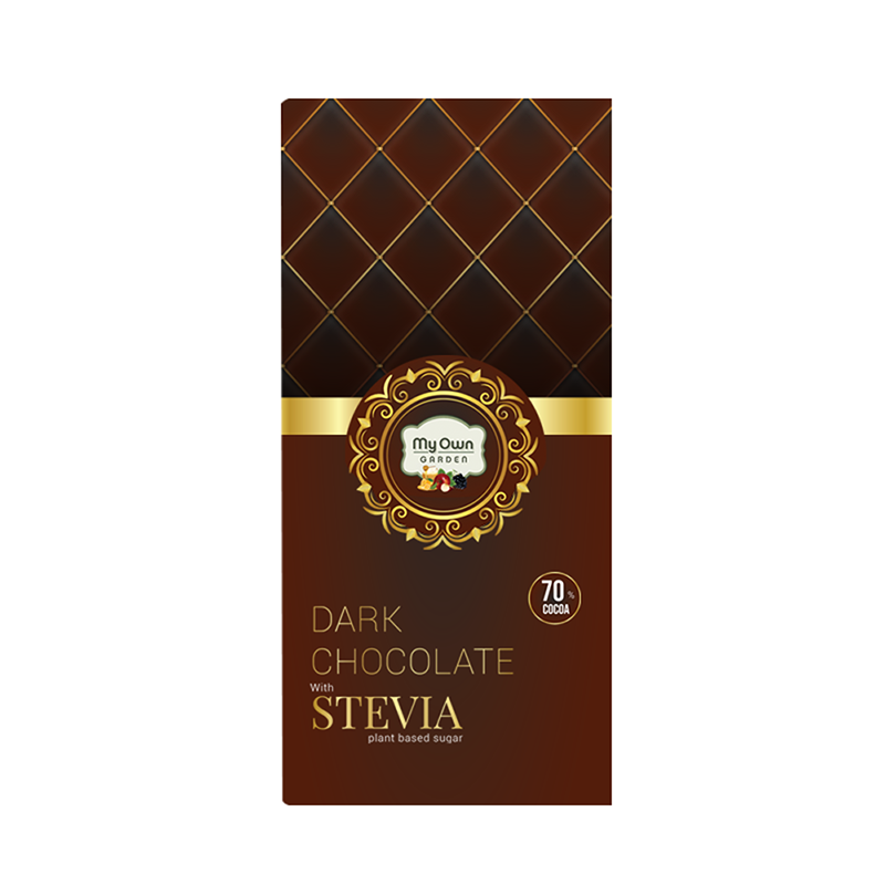 Dark Chocolate with Stevia