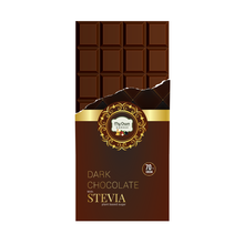Load image into Gallery viewer, Dark Chocolate with Stevia