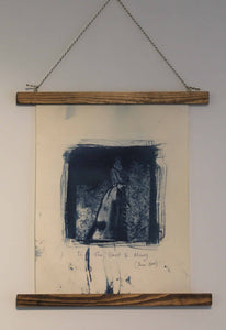 The Ghost of Mary - Cyanotype Banner