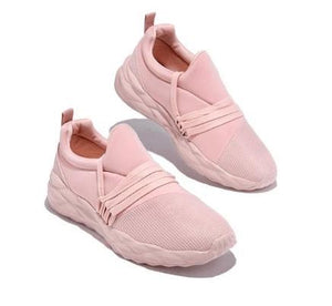 2020 Lace-up Slip-on Comfy Lightly Women Sneakers, Breathable Shoes Walking Running Casual Shoes [Limited time offer: Buy 2 Save More 15%]