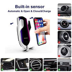 [2020 Upgraded] Premium Wireless Automatic Sensor Car Phone Holder and Charger [Limited time offer: Pay 3 Get 4]