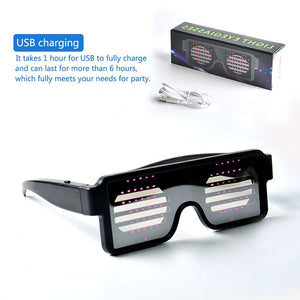 LUMILED™  Animation Flashing Light Glasses for Party (New Arrival)
