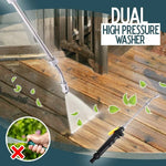 (2020 Upgrade) 2-IN-1 High Pressure Washer, High Pressure Water Gun [Limited time offer: Pay 2 Save more 15%]