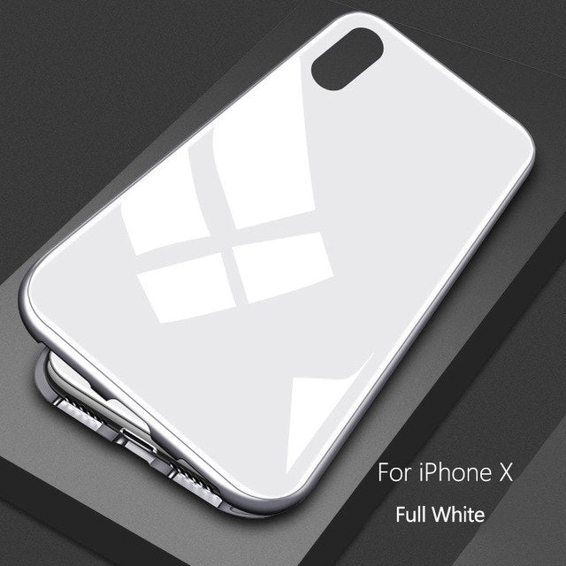 LUX Ultra Magnetic Adsorption Metal Case for iPhone [Premium Version]