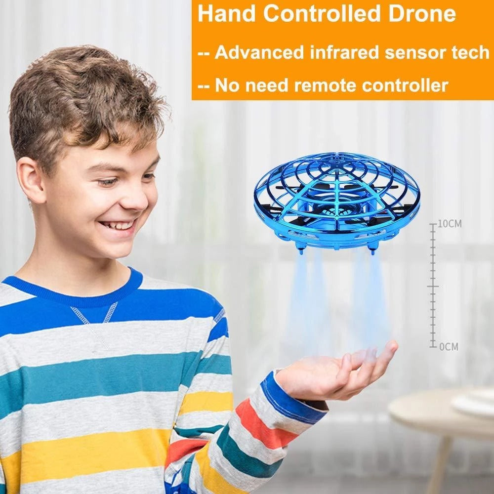 (CyberMonday Week 70% OFF) Mini Drone Levitation UFO [Flash SALE: Pay 2 Get 3]