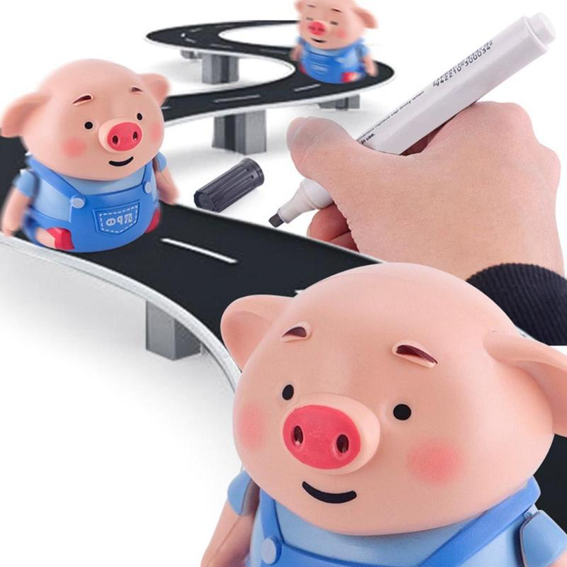 (Last day 50% OFF) Educational Creative Pen Inductive Toy Pig [Best Gift for Children]