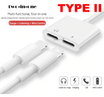 2 in 1 Lightning Adapter for iPhone