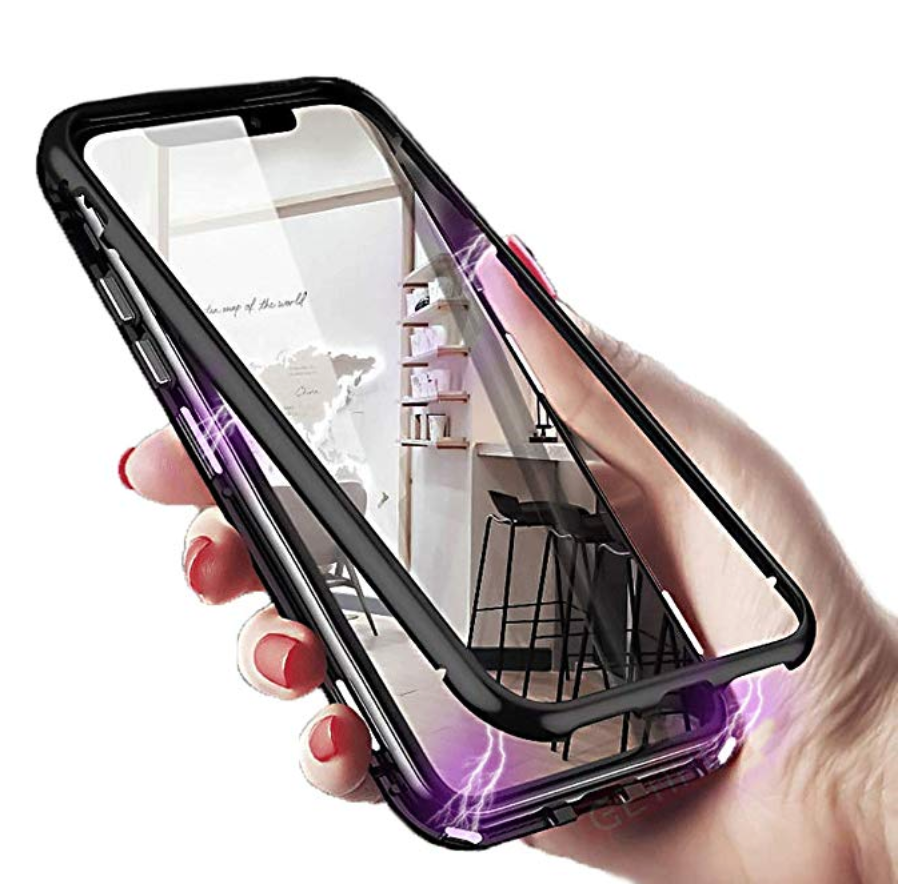 LUX™ Ultra Magnetic Adsorption Metal Case for iPhone [Premium Version]