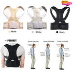 ORIGINAL Magnetic Posture Corrective Therapy Back Brace for Men/Women [Limited time offer: Pay 2 Save more 15%]