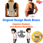 ORIGINAL Magnetic Posture Corrective Therapy Back Brace for Men/Women [Flash SALE: Pay 2 Get 3]