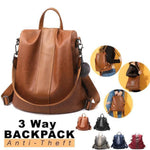 PREMIUM™ Fashion Anti-Theft Waterproof Backpack With Large Capacity [Flash SALE: Pay 2 Get 3]