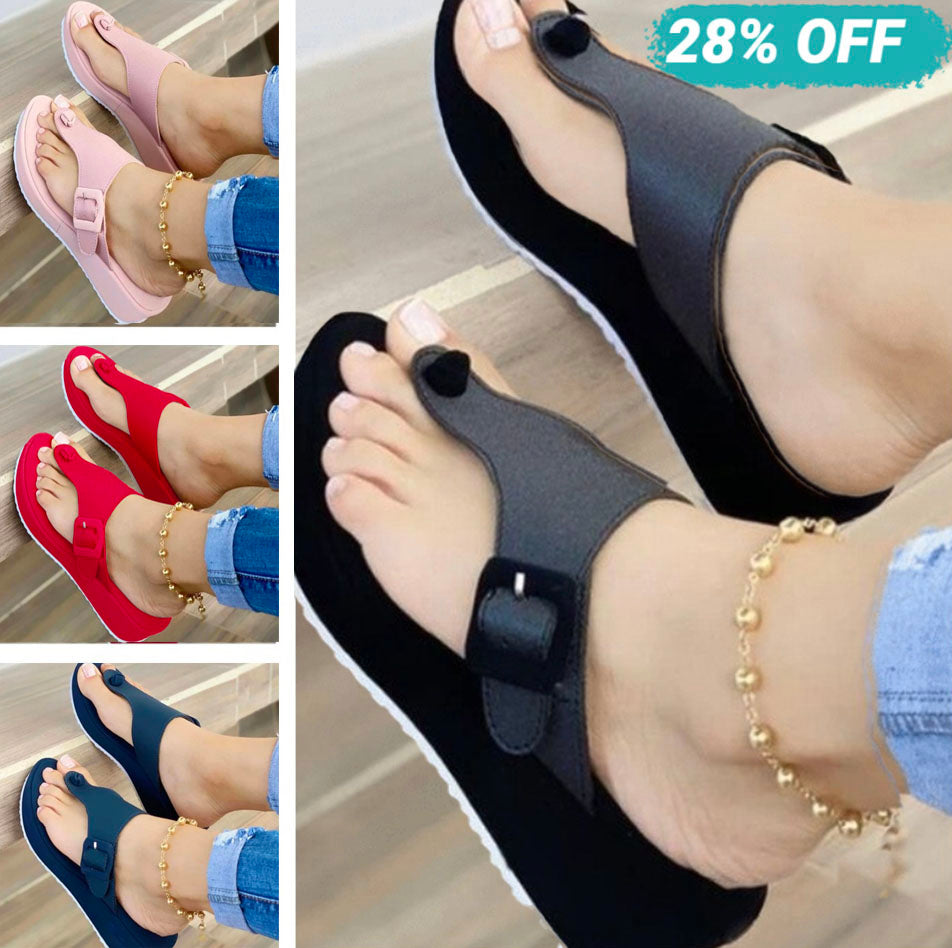 Women's Fashionable Flip Flops Comfortable Soft Slippers [Limited time offer: Buy 2 Save More 15%]