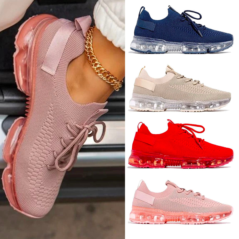 Women's Comfy Air Cushion Sneakers, Breathable Shoes Walking Running Shoes [Limited time offer: Buy 2 Save More 15%]