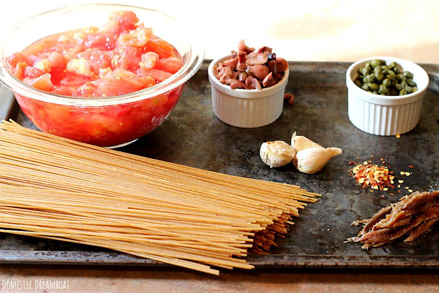 Recipe of the week: Spaghetti Puttanesca