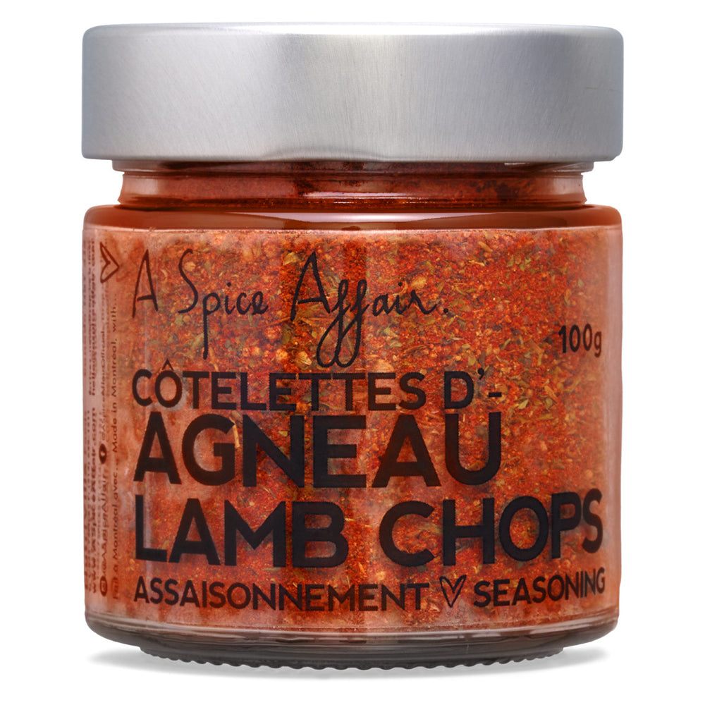 Lamb Chops Seasoning A Spice Affair. 100g (3.5 oz) Jar