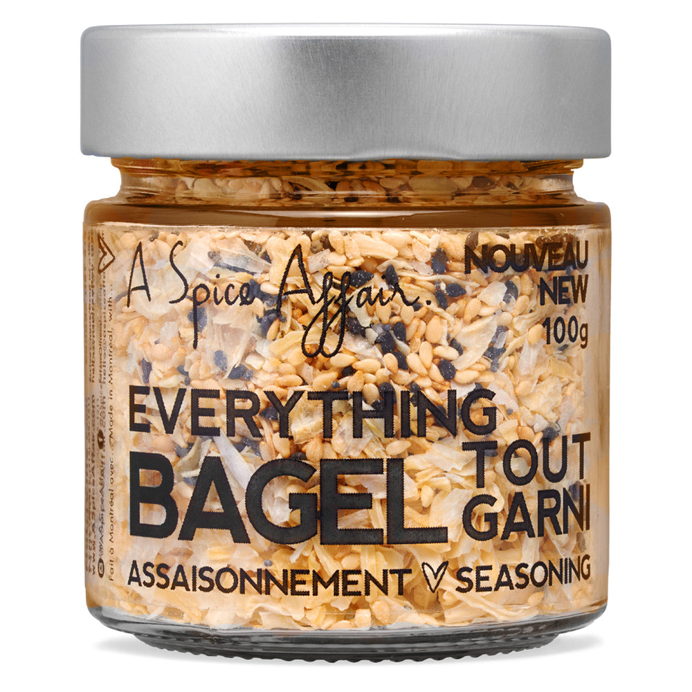 Everything Bagel Seasoning A Spice Affair. 100g (3.5 oz) Jar