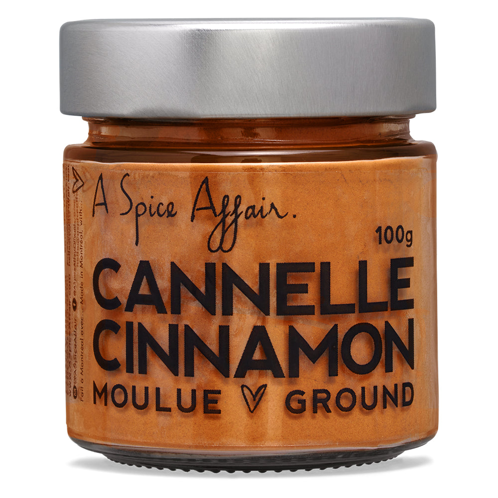 Cannelle moulue A Spice Affair. Pot de 100 g (3,5 oz)