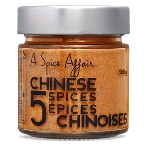 Cinq épices chinoises A Spice Affair. 100 g (3,5 oz) pot