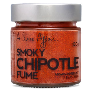 Chipotle Smoky Seasoning A Spice Affair. 100g (3.5 oz) Jar
