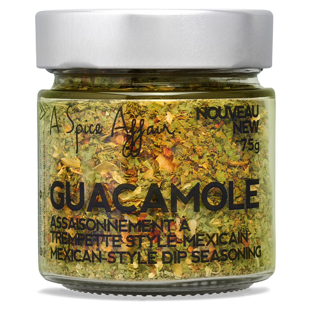 Guacamole Dip Mix A Spice Affair. 75g (2.6 oz) Jar