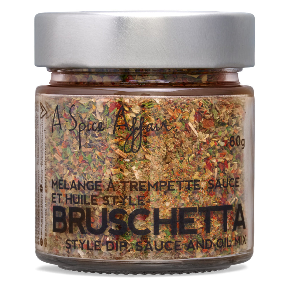 Bruschetta Dip Mix A Spice Affair. 60g (2.1 oz) Jar