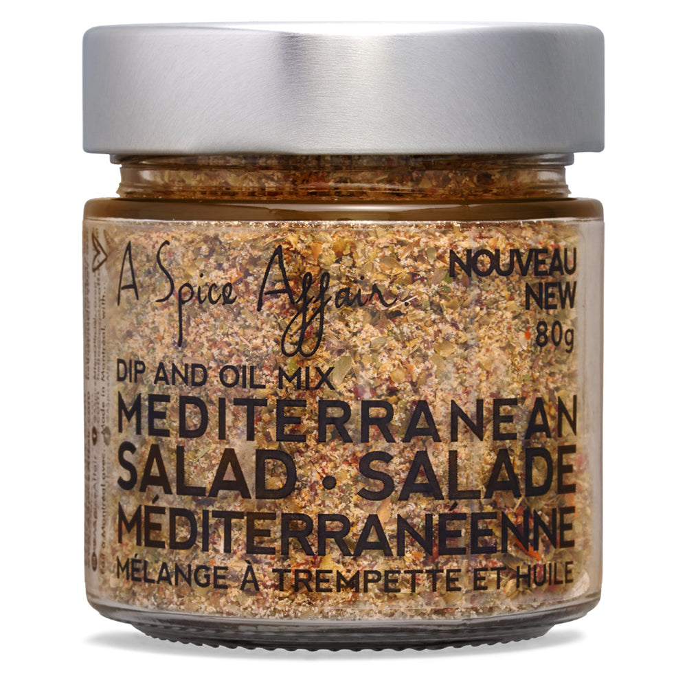 Salad Mediterranean Seasoning A Spice Affair. 80g (2.8 oz) Jar