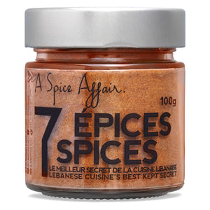 Seven Spices A Spice Affair. 100g (3.5 oz) Jar