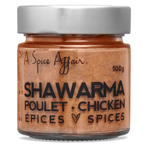 Shawarma Chicken Spices A Spice Affair. 100g (3.5 oz) Jar
