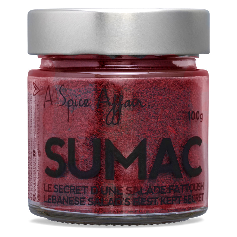 Sumac A Spice Affair. Pot de 100 g (3,5 oz)