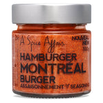 Montreal Burger Seasoning A Spice Affair. 100g (3.5 oz) Jar
