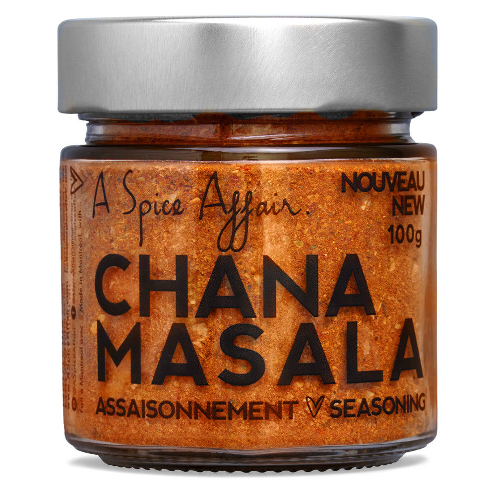 Chana Masala A Spice Affair. 100g (3.5 oz) Jar