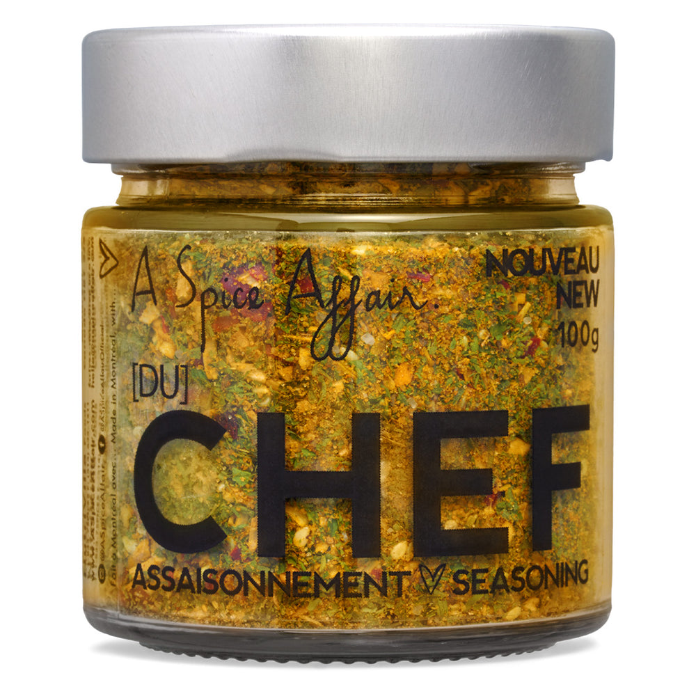 Chef Seasoning A Spice Affair. 100g (3.5 oz) Jar