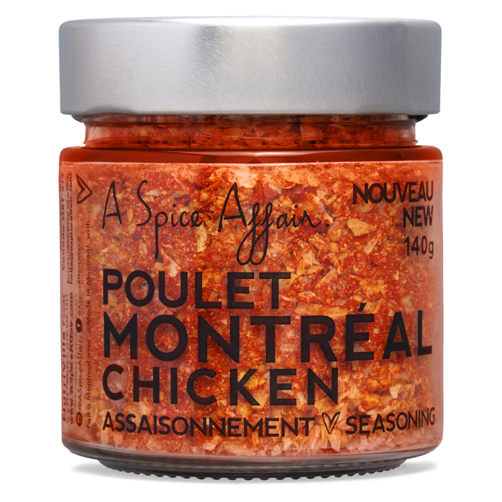 Montreal Chicken Seasoning A Spice Affair. 140g (4.9 oz) Jar